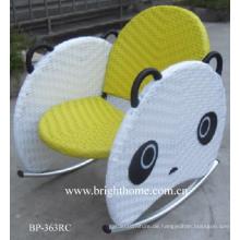 Lovely Panda Stuhl Handgewebter Babystuhl für den Outdoor-Einsatz