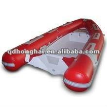 Barco inflable del yate de crucero costilla-390 CE de fibra de vidrio