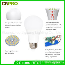 Best Selling 5W Inteligent Rechargeable LED Emergency Bulb Lighting