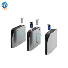 Stainless Steel Turnstile Gate Access Turnstile with Face Recognition Biometric Attendance