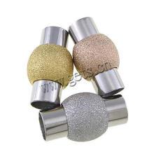 2015 Gets.com Fermoir en acier inoxydable, fermoir magnétique, plaqué or, lanterne, stardust