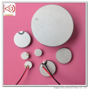 28mm 1MHz Pzt Crystal Pzt-5A Ceramic Transducer