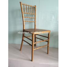 Chaise de tifany en métal chivari en gros pour mariage