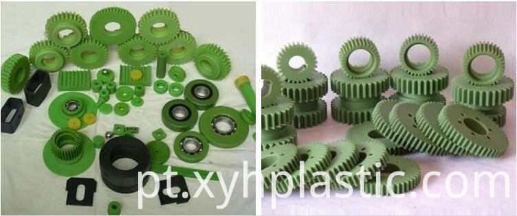 Nylon processing part