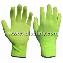 Привет Viz желтый работы перчатку с Пу Palm покрытием (PN8008)