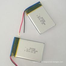 Bateria de iões de lítio recarregável 503759 Bateria de lítio-polímero 3.7V 1200mAh