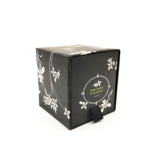 2018 Custom Gift Set Glass Jar Candles Plain Candles in Box