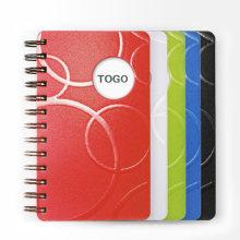 Anpassen A4 / B5 / A5 / A6 PU Leder Notebook Spiralblock B5