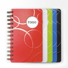 Personalizar A4 / B5 / A5 / A6 Cuaderno espiral de cuero PU B5