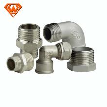 Chinês NPT ANSI 304 316 acessórios para tubos de aço inoxidável