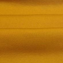 Tissus côtelés en jersey uni teints en coton polyester