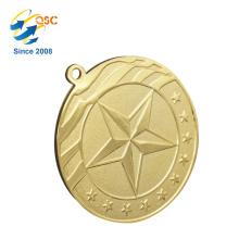 Novo Produto Excelente Qualidade Novo Design 3D Logotipo Personalizado Esporte Medalha Esporte Medallion Football League Challenge Coin