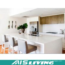 Meubles de placard de cuisine de placage de laque de style moderne (AIS-K316)