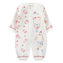 Cotton Long-Sleeved Warm Baby Romper