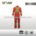 2015 estilo Canadá alta qualidade macacão para homens com tecido de poli-algodão e muitos bolsos conformes CSA Z96-09 CLASSE 1