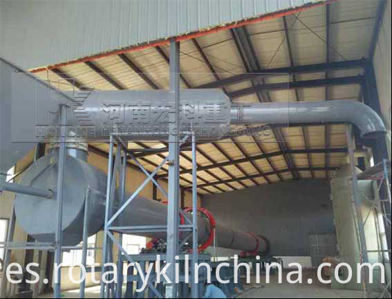 Particle Steel Rotary Kiln 2