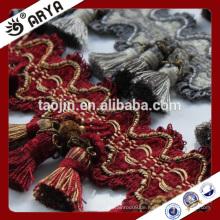 2016 Stock Produkt Großes Schnäppchen für Hausdekor des dekorativen Vorhangs Troddel Fringe