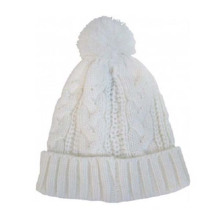 Pure Color Blank Kids Winter Hats