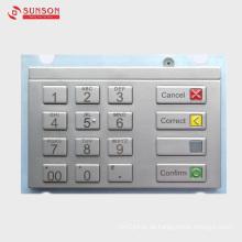 PCI-verschlüsseltes Pinpad für unbemannte Zahlungsterminals Kiosk
