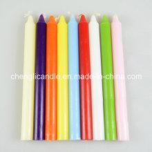 Straight Stick hohe Säule bunte Kerzen für Parteien