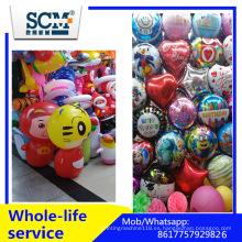 Globo de látex 10 pulgadas de color metálico Ballons imprimibles 12 pulgadas, Globos de metal de fábrica de helio al por mayor