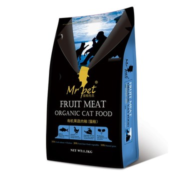 alimento estável do gato eco-friendly