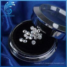 Forever One Excellent Moissanite coupe brillante ronde en pierres précieuses en vrac à vendre