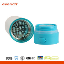 Everich Double Wall AS Tea Tumbler com tampa aberta One Touch