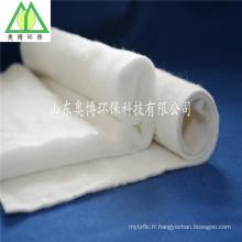 Non-tissé de liaison thermique / ouate de coton pur pour les vêtements