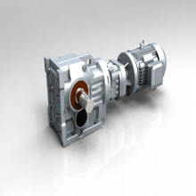 Berongga Shaft Gearbox Inline Helical Gear Reducer