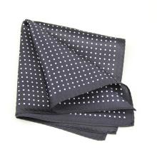 Terno de lã masculino bolso quadrado