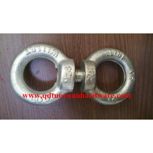 Heavy Duty Zinc Plated DIN580 Eye Bolt with DIN582 Eye Nut for Fastener