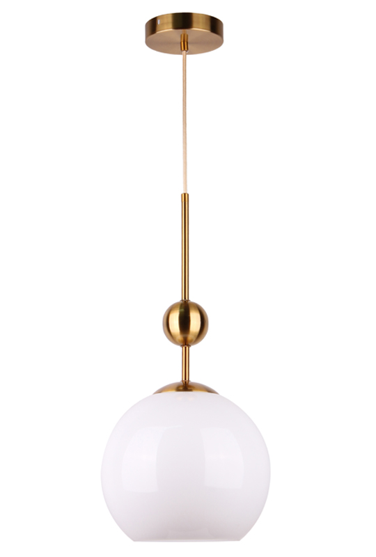 Pendant Lamp White Ball Shade
