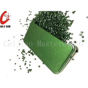 Green Free Spraying Masterbatch Granule