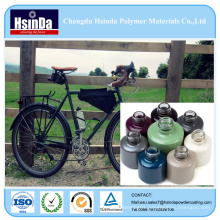 Inorganic Nano Electrostatic Metallic Effect Powder Coating for Bicycle