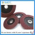 venda quente personalizado disco de flap de óxido de alumínio com melhor preço na china