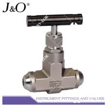 Swagelok Type Instrument válvula de agulha de aço inoxidável
