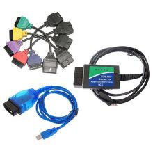 New for FIAT ECU Scan+Elm 327 with USB+Kkl VAG OBD2