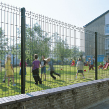 3D Security Fence Welded Mesh Fence