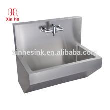 Durable Edelstahl Krankenhaus medizinische chirurgische Scrub Waschbecken medizinische Hand Waschen Trog mit Sensor tippen