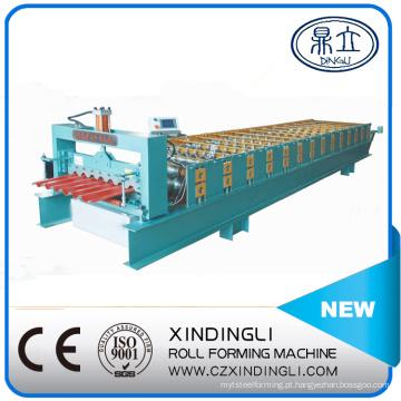 Novo tipo de máquina formadora de rolos de folha de telhado trapezoidal