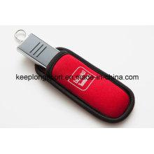 Estuche promocional personalizado de neopreno USB