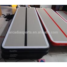 Tapis de gymnastique gonflable de tapis de voie d'air d'équipement de forme physique pliable à la maison