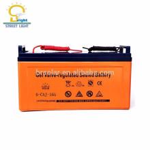 3 años de garantía baterías de almacenamiento de ciclo profundo impermeables y de bajo mantenimiento