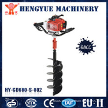 Power Gasoline Earth Auger Drill with 68cc