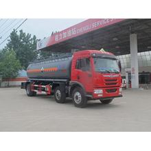 FAW Tri-axle 16000Litres Chemical Liquid Transport Transporter