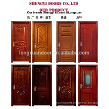 flush design composite wood door