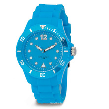 Wasserdichte Farbe Eco-Friendly Silicon Watch