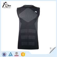 Mens Sports Sem costura Underwear respirável Singlets