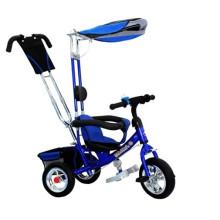 Triciclo infantil azul de 12 polegadas Kids Triciclo